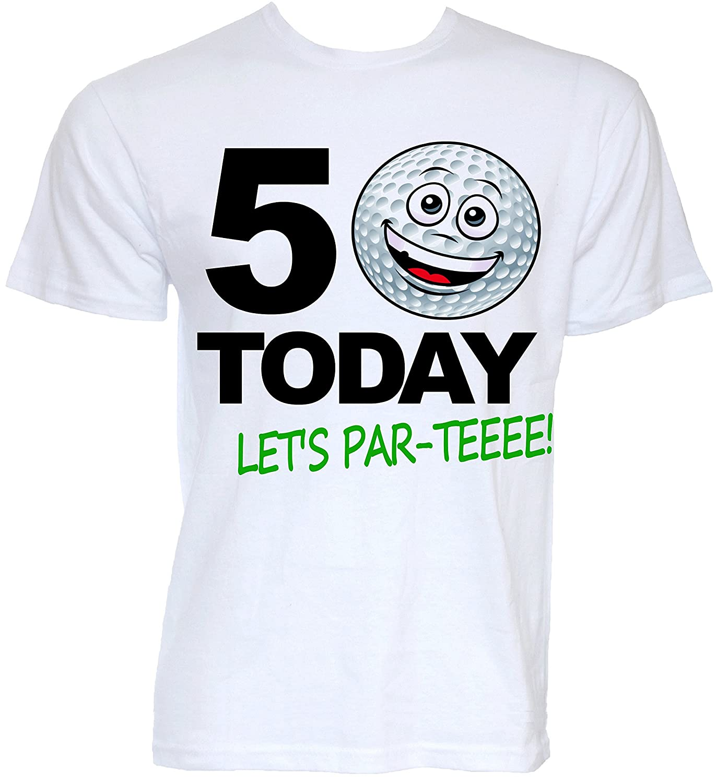 Beat Tees Clothing Mens Funny Novelty 50th Birthday Golfer Golf Themed Joke Golfing Slogan Gifts T Shirts Amazoncouk