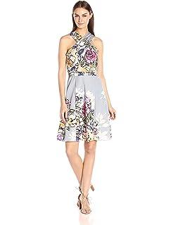 f2c1430c35b2 Amazon.com: Tracy Reese Women's Floral-Print Sheath Dress: Clothing