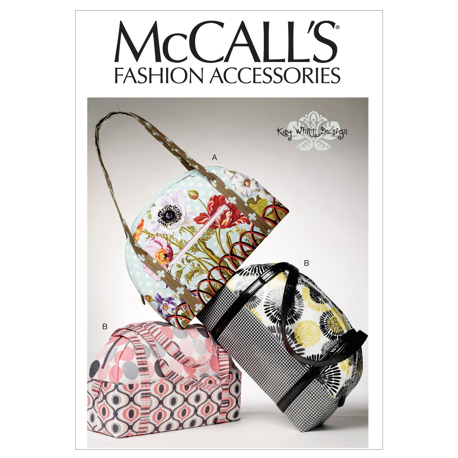 Amazon.com: McCall\'s Patterns M6532 Bags, One Size: Arts, Crafts ...