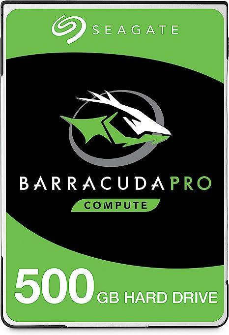 Seagate Barracuda Pro, 500 GB, Unidad de Disco Interna de Alto ...