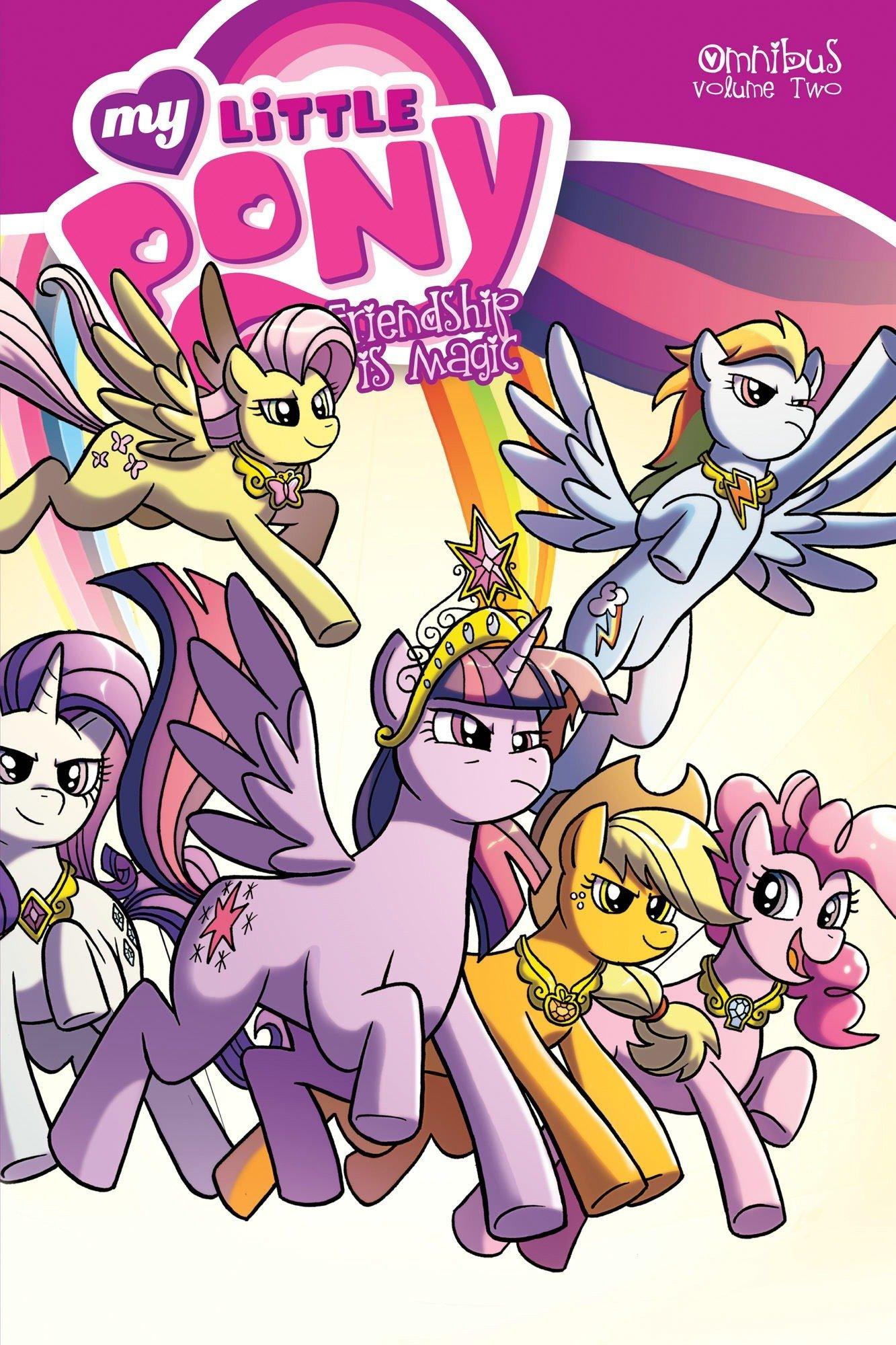 Read Online My Little Pony Omnibus Volume 2 pdf