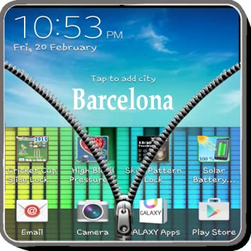 zipper screen lock app