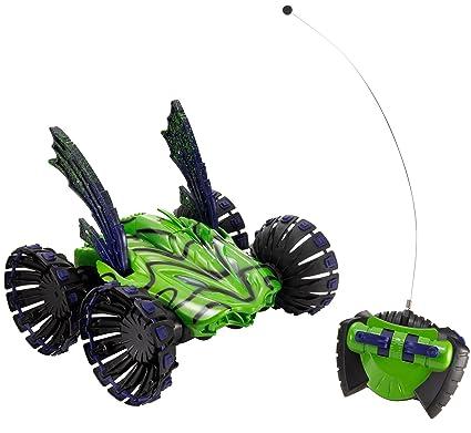 Amazoncom Tyco Rc Stunt Psycho Vehicle Green Toys Games