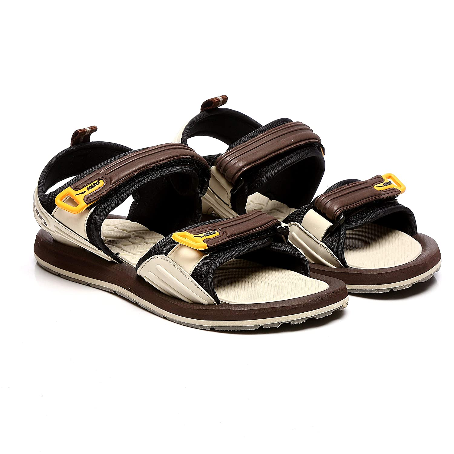 Buy Kito Thailand Kids Dark Brown Synthetic Pu Outdoor Sandals At Amazon In