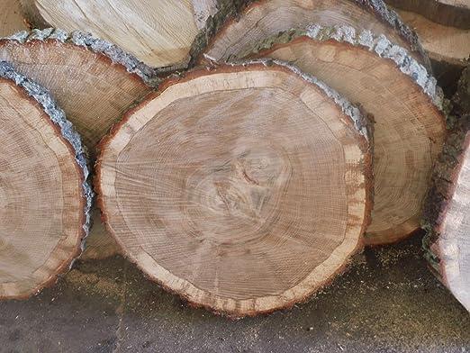 Kjr Holzmanufaktur Baumscheibe Holzscheibe Ca 40x5 Cm Basteln