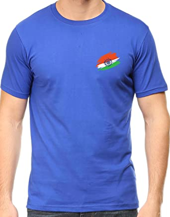 fe962856430b94 Tee Talkies Indian Flag T Shirt for Mens Premium Cotton Independenceday  Printed T-Shirt -