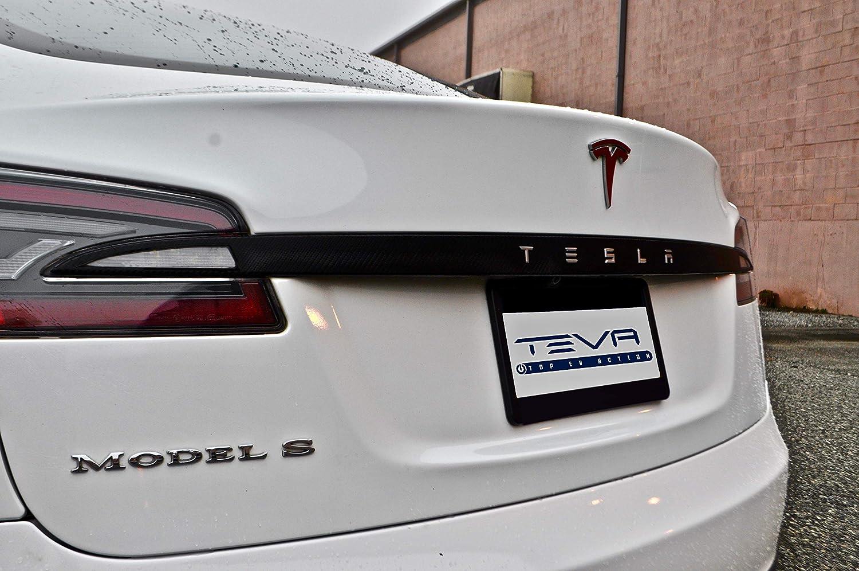Model S Trunk Chrome Delete 7//8 Matte Carbon Fiber