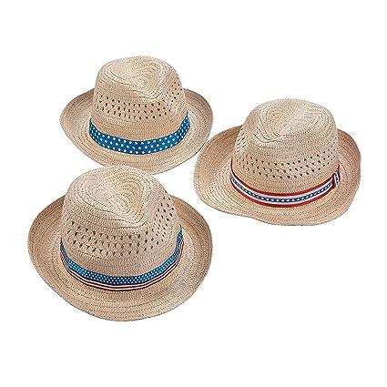 Fun Express Patriotic Hats Party Supplies 12 pieces