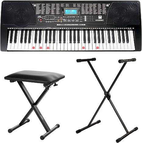 B-WARE DIGITAL 61 TASTEN KEYBOARD E-PIANO KLAVIER 100 SOUNDS /& RHYTHMEN USB MP3
