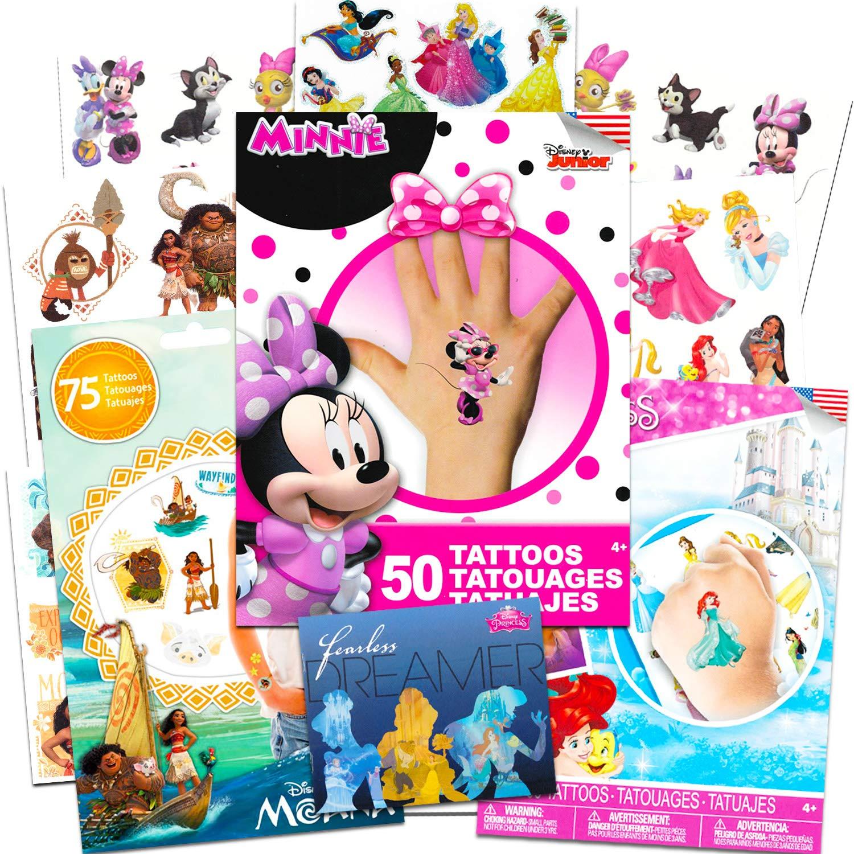 Amazon.com: Disney Tattoos Party Favor Set For Girls -- Over 175 ...