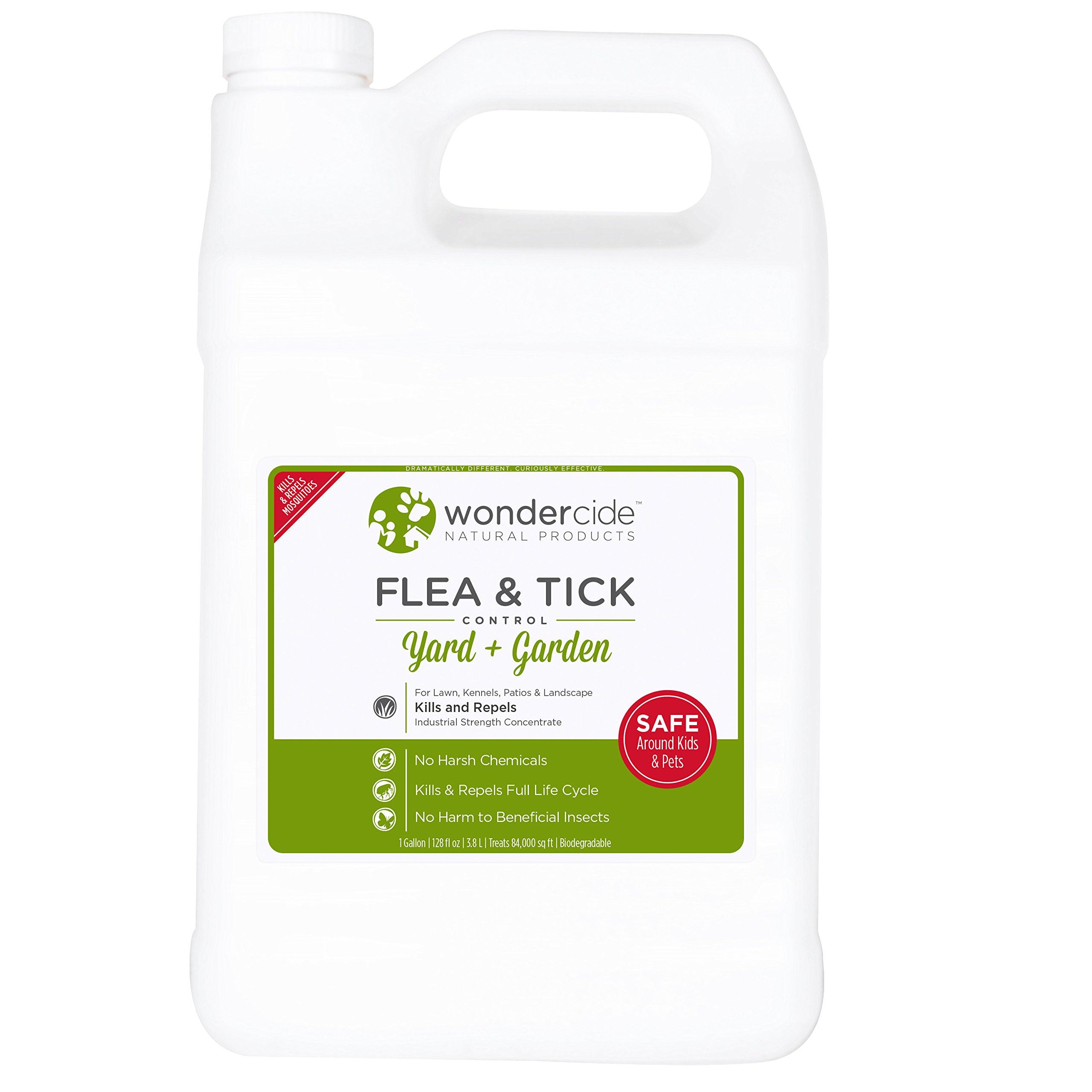 Wondercide Natural Flea & Tick Control Concentrate for Yard   Garden - 1 gal