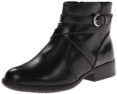 1b25810d68d1 LifeStride Women s X-Pat Ankle Boots Black 8 N  Buy Online at Low ...
