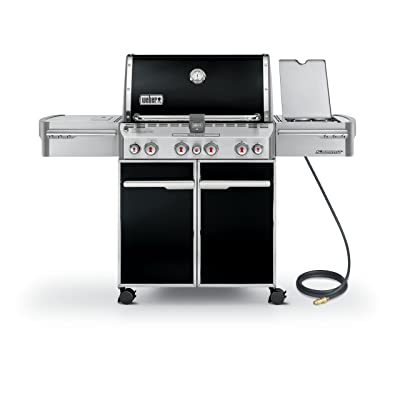 Weber Summit 7271001 E-470 580-Square-Inch 48,800-BTU Natural-Gas Grill