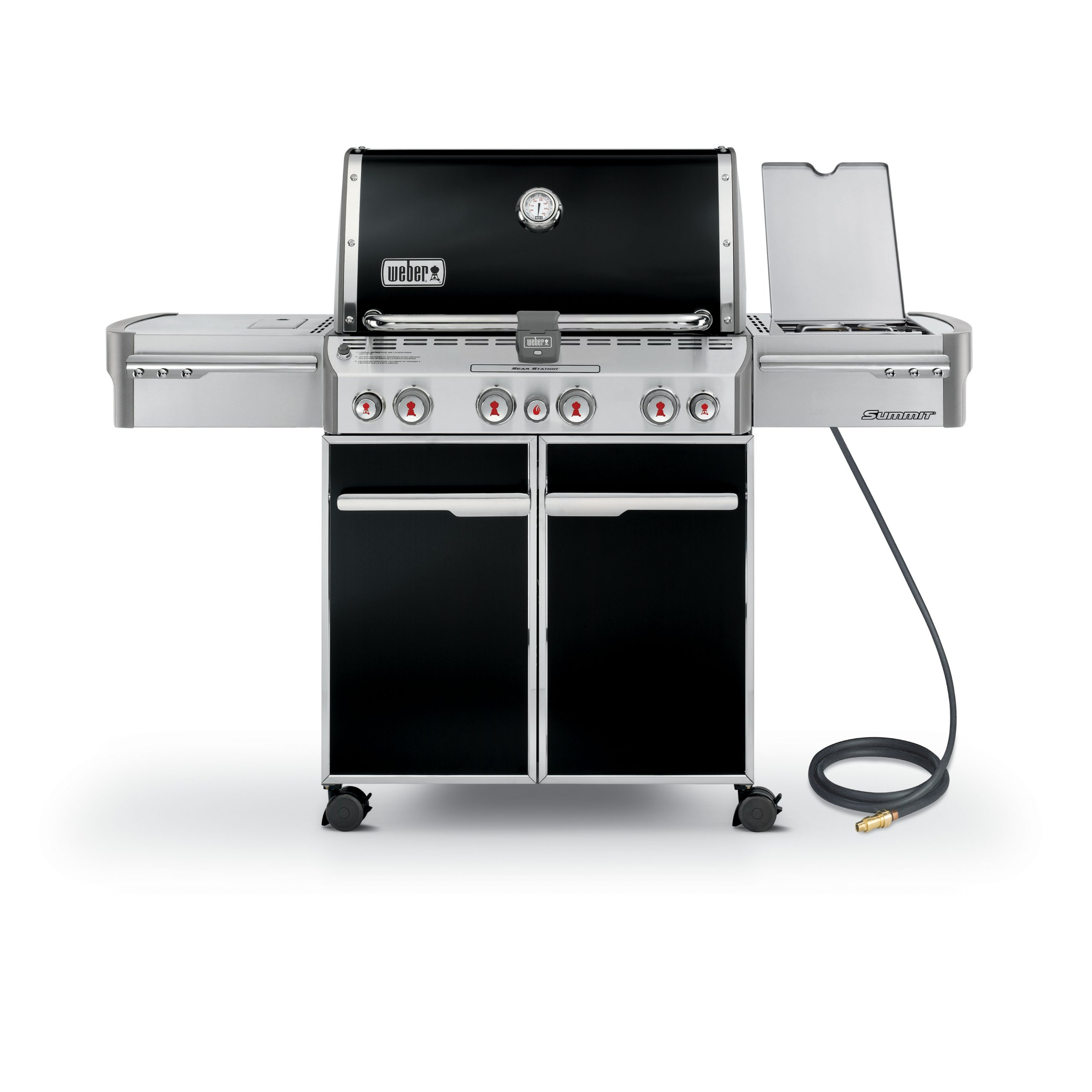 Weber Summit 7271001 E-470 580-Square-Inch 48,800-BTU Natural-Gas Grill, Black by Weber