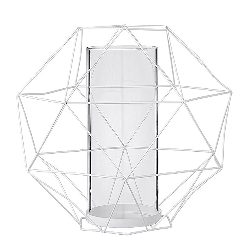 Amazon com: Bloomingville Medium White Metal Geometric