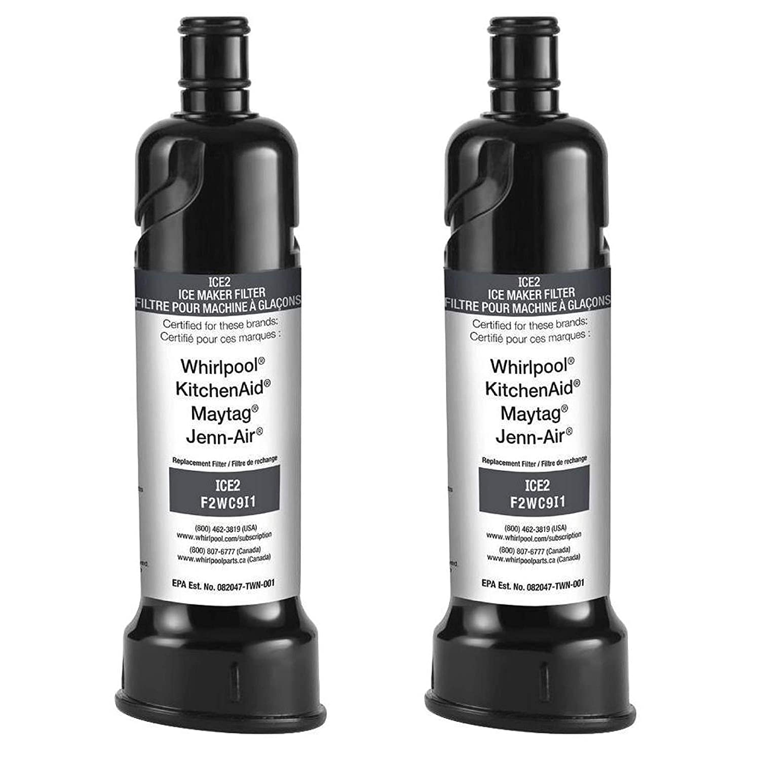 OEM Whirlpool Icemaker Water ICE-2 F2-WC-9I1 Certified Refrigerator (2 Pack)