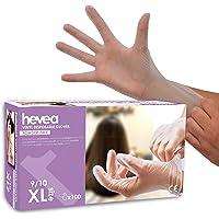 Wegwerp Vinyl Handschoenen, Maat XL, 1 X 100