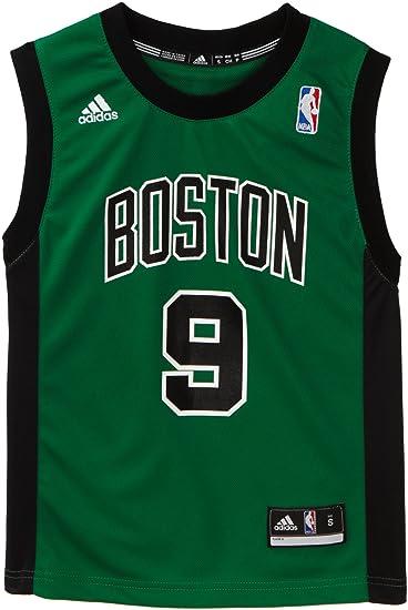 Amazon.com   NBA Boston Celtics Rajon Rondo Replica Alternate Youth ... 2b29f375d