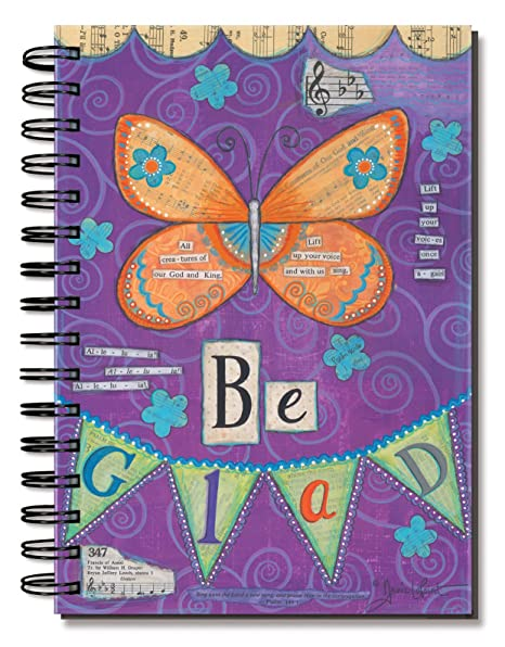 Amazon.com : Divinity Boutique Journal, Butterfly Be Glad ...
