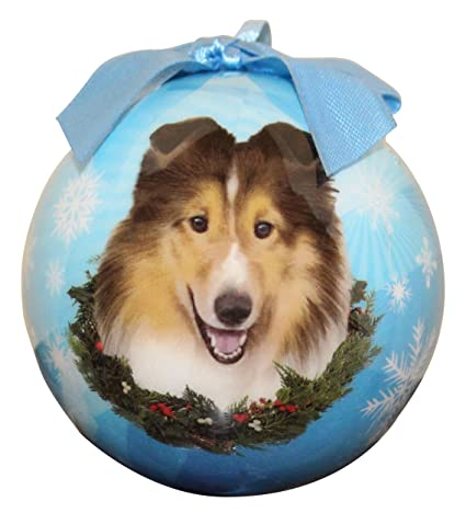 Sheltie Christmas Ornament Shatter Proof Ball Easy To Personalize A Perfect  Gift For Sheltie Lovers - Amazon.com: Sheltie Christmas Ornament Shatter Proof Ball Easy To