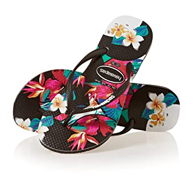 16230e38b45f Havaianas Slim Tropical Floral  Amazon.co.uk  Sports   Outdoors