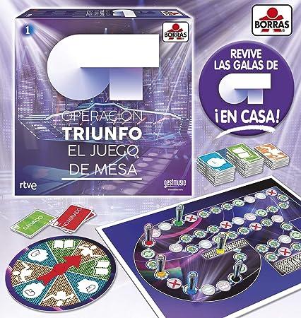 Borrás 18057 Ot, El Juego De Mesa, Multicolor , color/modelo surtido: Amazon.es: Juguetes y juegos