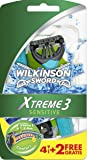 Wilkinson Einwegrasierer Xtreme 3 Sensitive - Maquinillas de afeitar desechables (4 unidades + 2 gratis)