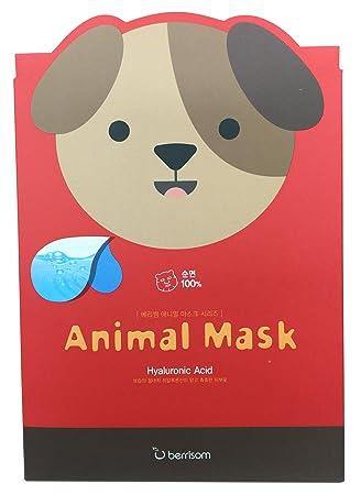 BERRISOM Animal Mask Series Dog Chateau Labiotte, Wine Lip Balm, Rose Wine, 7 g(pack of 3)