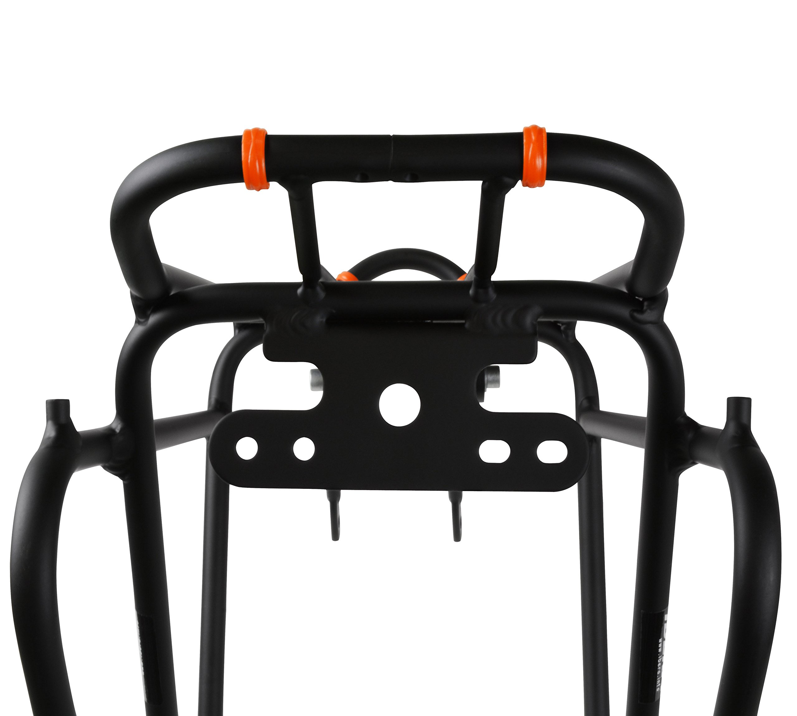Ibera Bike Rack - Bicycle Touring Carrier Plus+ for Non-Disc Brake Mount, Frame-Mounted for Heavier Top & Side Loads, Height Adjustable for 26''-29'' Frames by Ibera (Image #5)