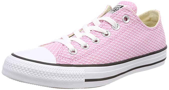 Converse Damen CTAS Ox Light Orchid/White/Natural Fitnessschuhe