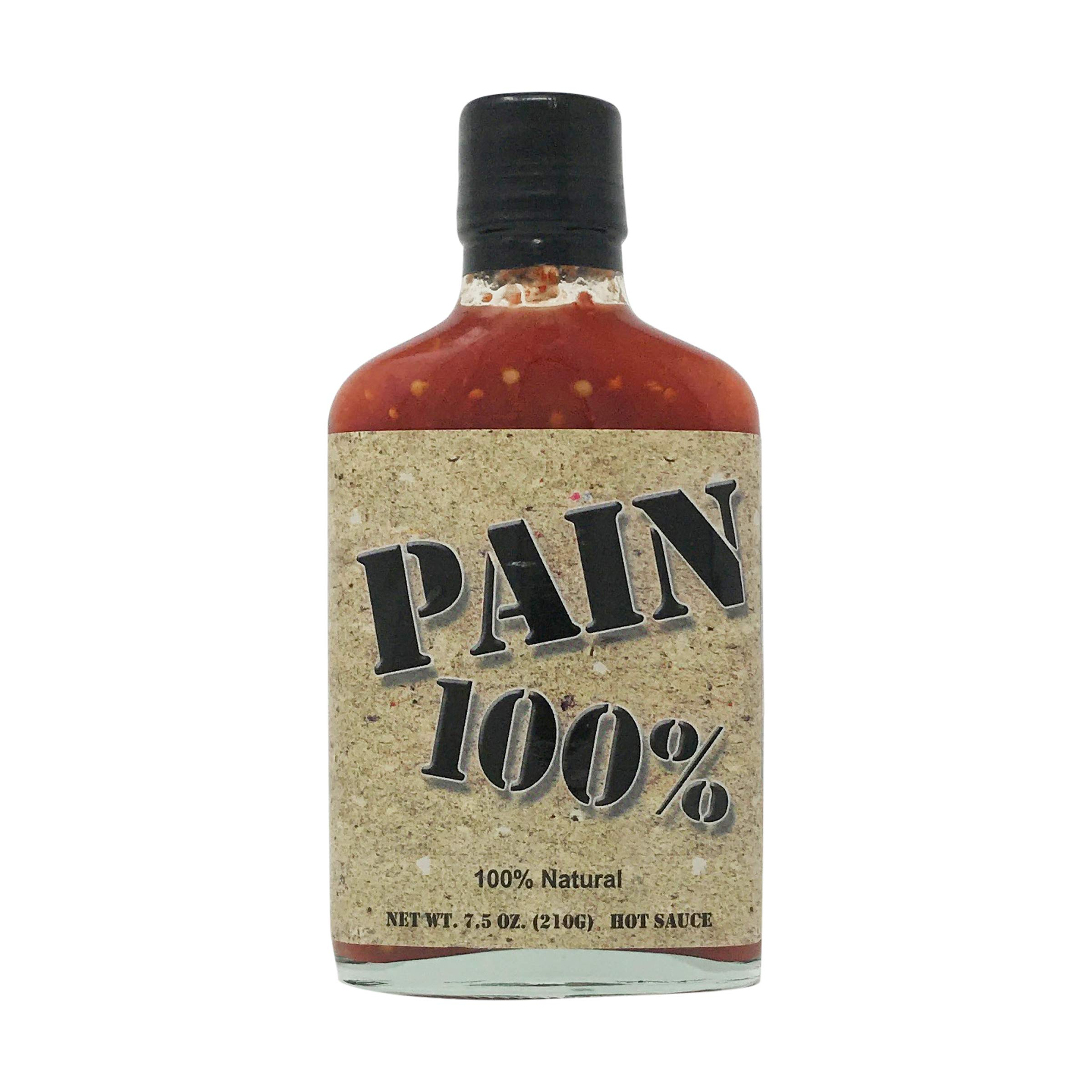 Pain 100% Hot Sauce 100% Natural 210g