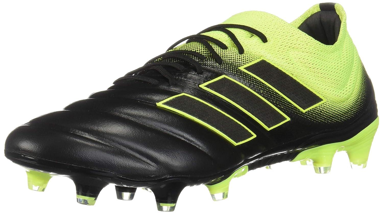 pretty nice 34b0a e29a1 Amazon.com   adidas Copa 19.1 FG Cleat - Men s Soccer Core Black Shock  Yellow   Soccer