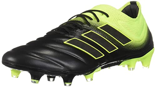 Image Unavailable. Image not available for. Color  adidas Copa 19.1 FG Cleat  - Men s Soccer Core Black Shock Yellow a7998bb75