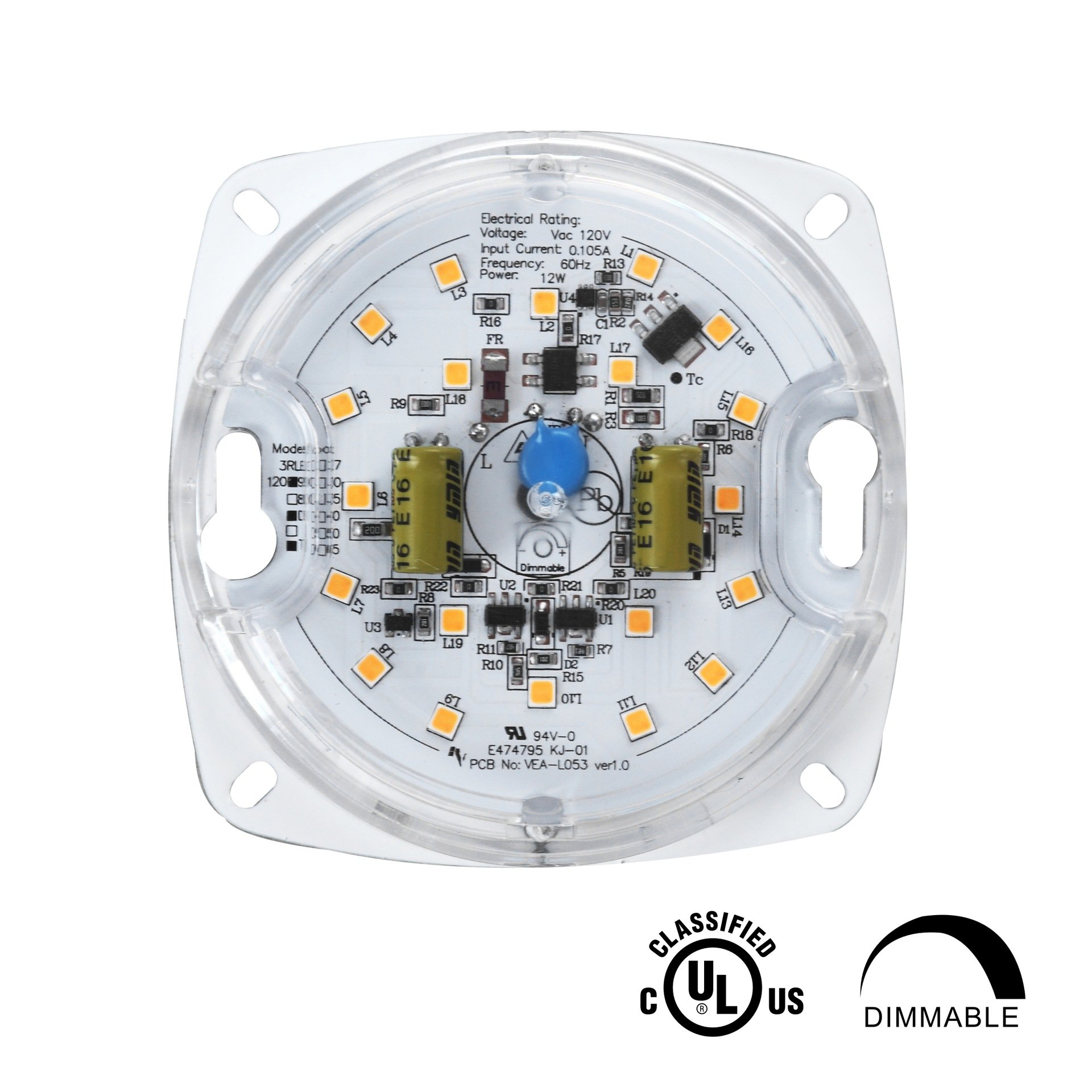Best Rated In Close To Ceiling Light Fixtures Helpful Customer Fan Wiring New Construction2setsswitchesfanlight3jpg Silverlite 310w5000k850lm120vcri80dimmable Led