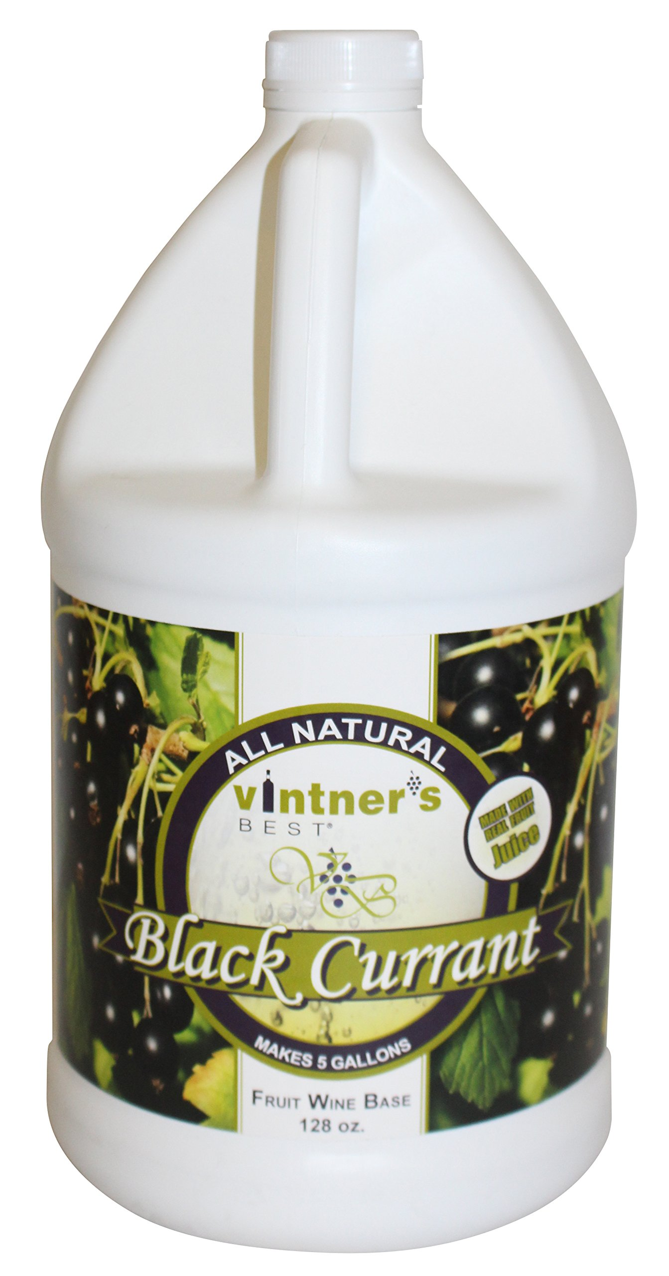 Vintner's Best Black Currant Wine Base-128 oz. Jug
