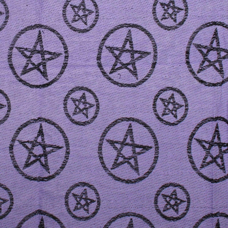 10+ Farben 100/% Baumwolle Pali Pal/ästinenser Arafat Tuch Palituch mit Pentagramm-Muster Superfreak Palituch