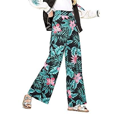 Pepe Jeans Pantalon Eva Verde Mujer: Ropa y accesorios