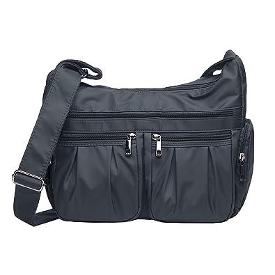 Amazon.com: Bolsas de hombro para mujer, bolsas de viaje de ...