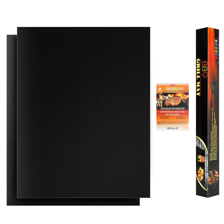 ABTOR BBQ Grill Mat Non Stick – 600 Degree Heavy Duty Mats