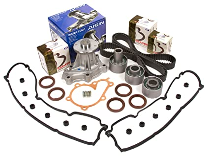 Evergreen TBK180VCA 90-96 Nissan 300ZX Non & Turbo Timing Belt Kit Valve Cover Gasket