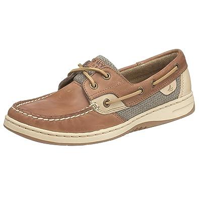 Sperry Women's, Songfish Slip On Boat Shoe Linen Oat 12 M