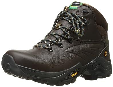 Hi-Tec Men's V-Lite Flash I Waterproof Hiking Boot, Chocolate/Core