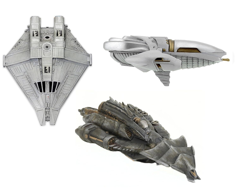 NECA CINEMACHINES Die Cast Collectibles Series 2 Predator Tribe Ship Toy Figure
