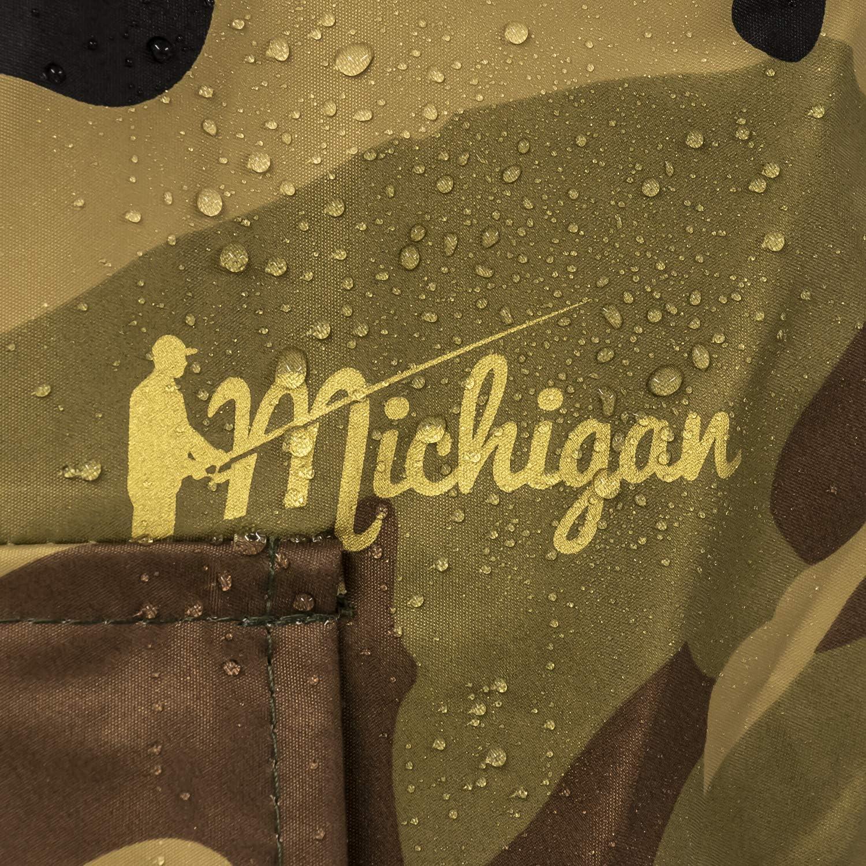 Tarnfleck Nylon-Wathose mit G/ürtel wasserdicht Michigan Gr/ö/ßen 39,5-47