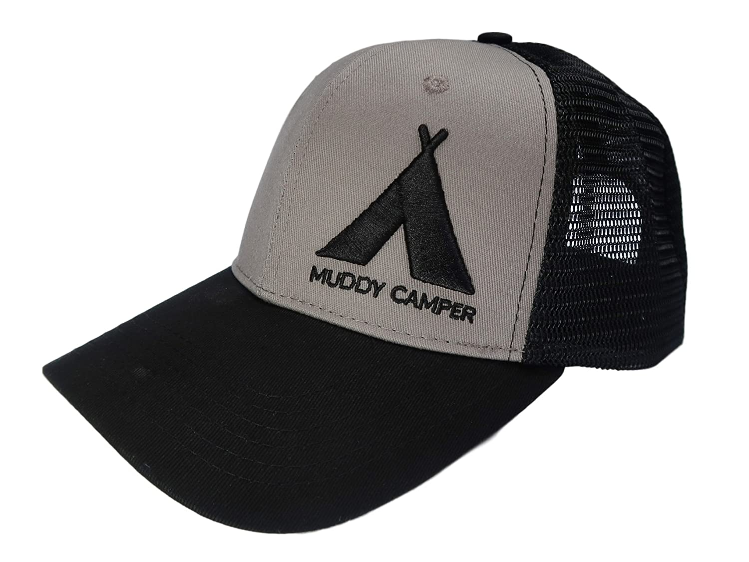 Amazon.com  Muddy Camper Trucker Hat (Adult)  Made For Camping ... 17021bd1ba3