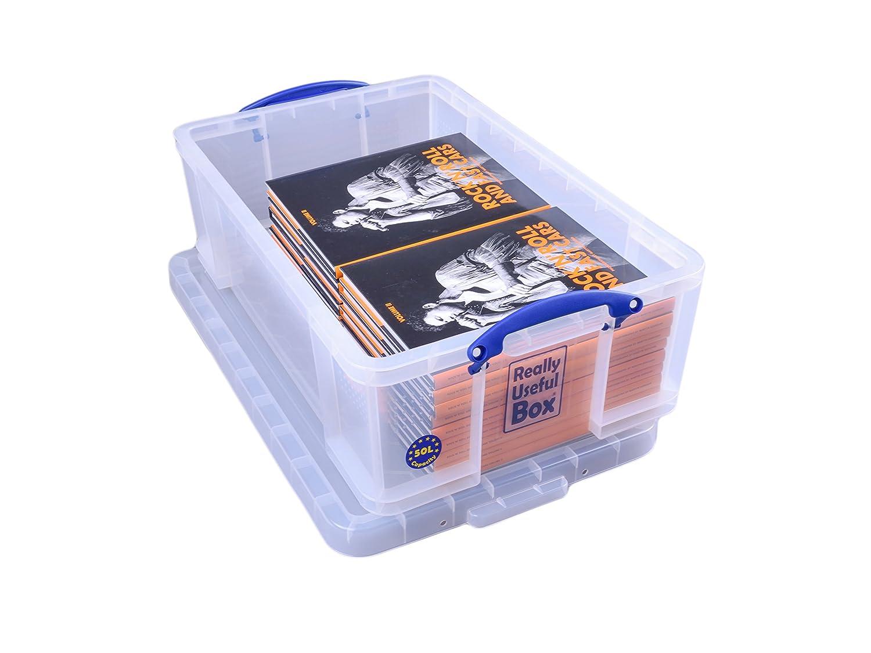 really useful kunststoff aufbewahrungsbox leicht robust stapelbar 50 liter 440 x ebay. Black Bedroom Furniture Sets. Home Design Ideas