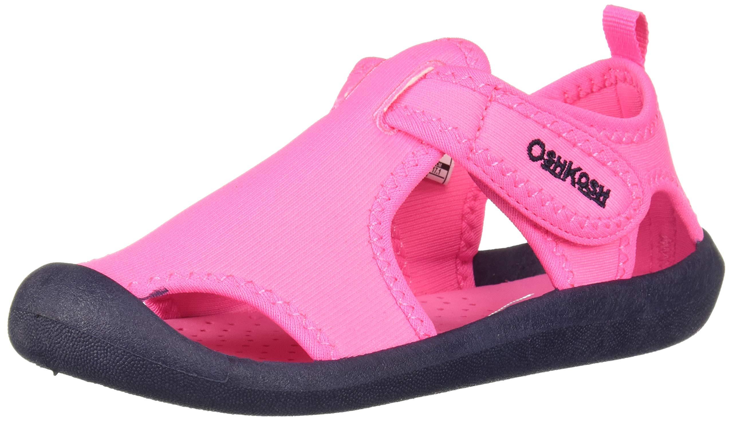 OshKosh B'Gosh Aquatic Girl's and Boy's Water Shoe, Fuchsia 10 M US Toddler