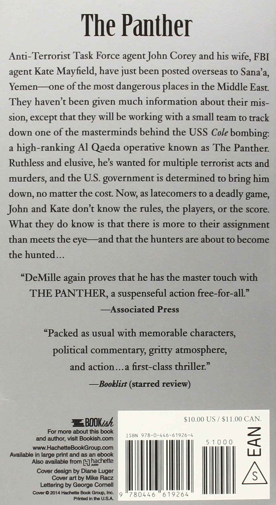 The Panther (a John Corey Novel): Nelson Demille: 9780446619264:  Amazon: Books