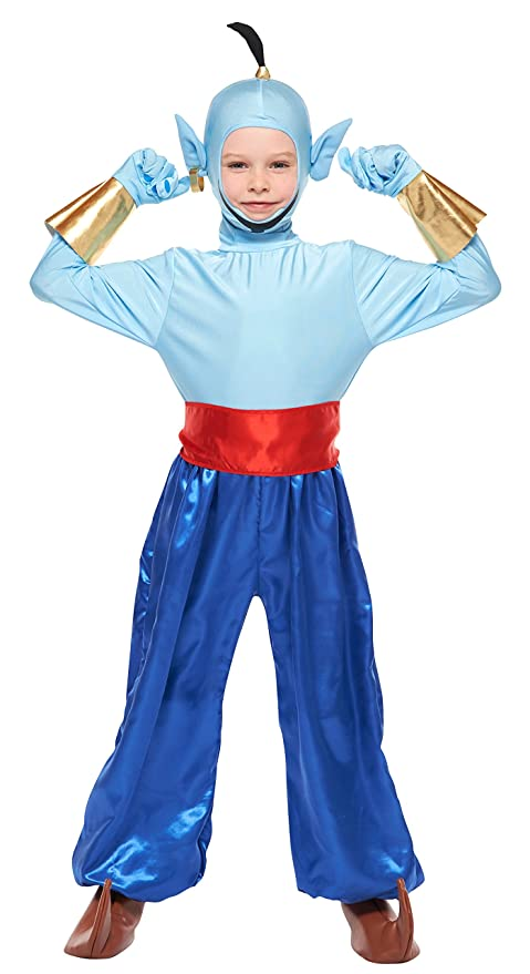 Disney Aladdin --Genie Costume -- Kids M Size Costume  sc 1 st  Amazon.com & Amazon.com: Disney Aladdin --Genie Costume -- Kids M Size Costume ...