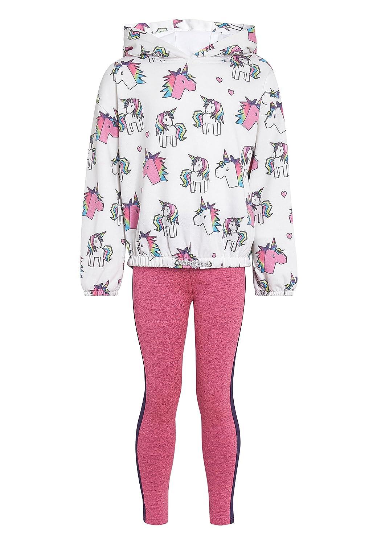 next Bambine E Ragazze Completo Felpa con Unicorni E Leggings